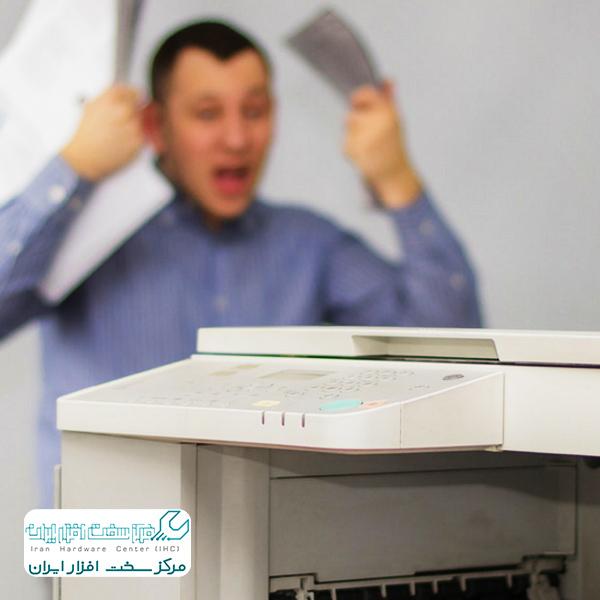 تاب برداشتن کاغذ در دستگاه کپی