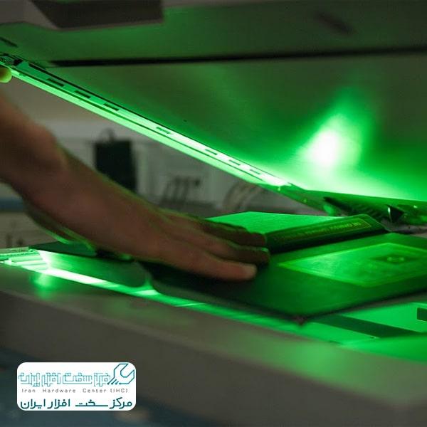 تعمیرات Blank Lamp دستگاه کپی