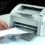 کج شدن کاغذ در دستگاه کپی