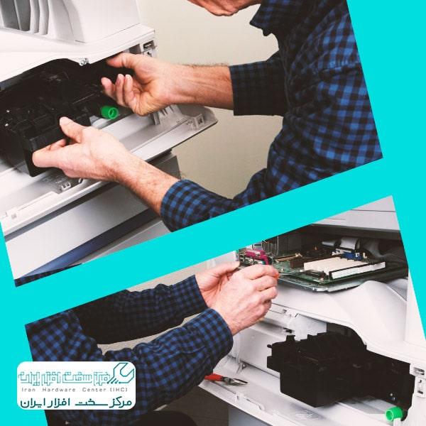 تعمیر دستگاه کپی در محل کار
