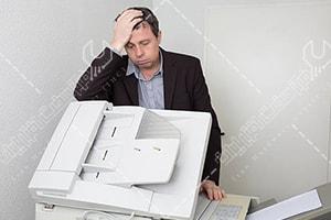 چرا دستگاه کپی کپی نمی گیرد؟