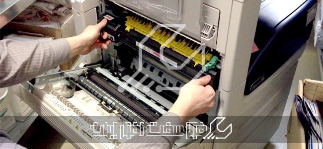 تعویض قطعات دستگاه کپی