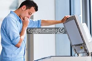 مشکلات متداول دستگاه کپی
