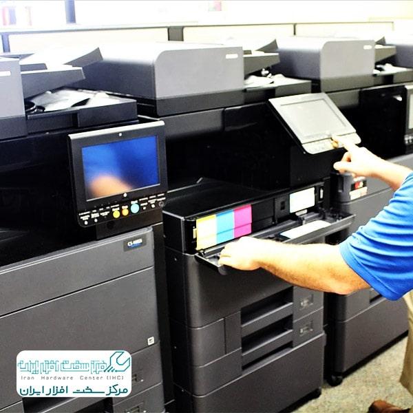 تعمیر دستگاه کپی رنگی