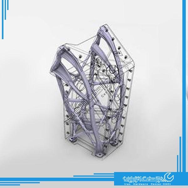 تولید قطعات هواپیما با پرینتر سه بعدی