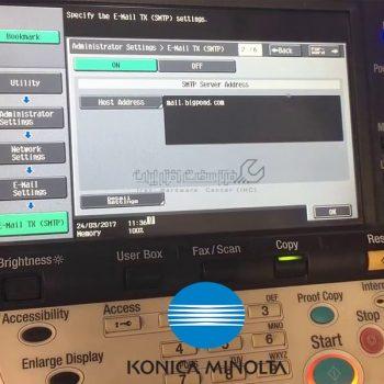 ارورهای دستگاه کپی کونیکا مینولتا